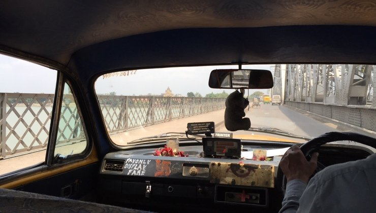 Taxi in Calcutta