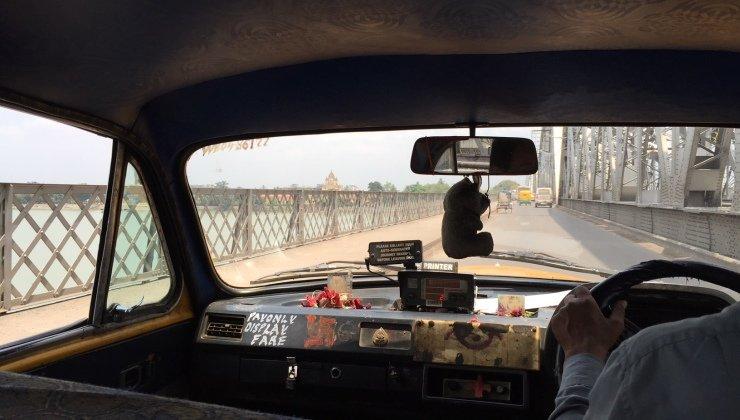 Taxi in Calcutta